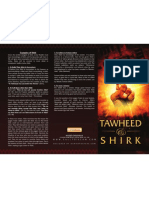 "Dawah Poster- ""Tawheed & Shirk"""