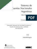 Indec - Sistema de Cuentas Nacionales