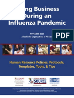 BCP Pandemic Toolkit
