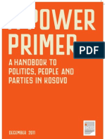 A Power Primer, Handbook to Politics, People and Parties in Kosovo