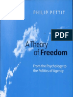 Pettit Philip - A Theory of Freedom, From the Psychology to the Politics of Agency