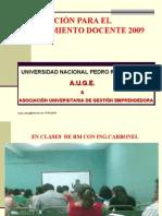 nombramiento docente 2009
