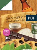 Guía Roja y Verde de Alimentos Transgénicos