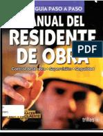 Manual Del Residente de Obra[1]