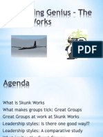 Organizing Genius – The Skunk Works