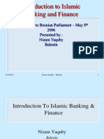 (3) Introduction to Islamic Banking and Finance