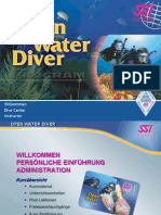 Open Water Diver Pegs German 2010