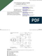 Fuente de alimentación simétrica regulada y variable de 0 a30v 2a