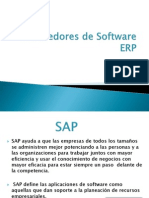 Proveedores de Software ERP