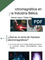 Electromagnetísmo en la industria bélica