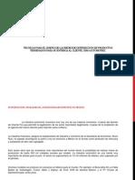 Técnicas para el diseño de las redes de distribución de productos terminados - Automotriz