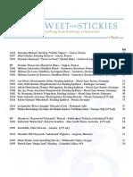 Robust Wine List - 08 - Sweet Stickies