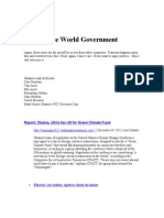 My One World Government File