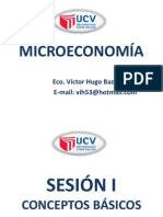 Microeconomia Conceptos Básicos