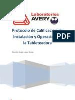 protocolo tableteadora