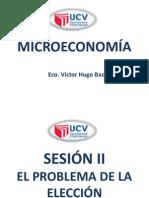 Microeconomia el Problema de la Elección