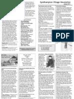 Quidhampton Newsletter Jan 2011