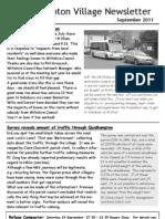 Quidhampton Newsletter September 2011