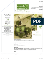 Crochet turtle patterns
