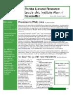 NRLISpring 2009 Newsletter