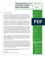 Spring 2011 NRLI Alumni Association eNewsletter