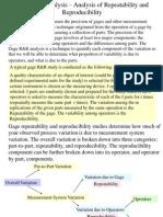 Gage R&R Analysis