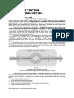 BAB 3 - Sekilas Tentang Manajemen Proyek