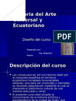 Historia Del Arte Universal y Ecuatoriano (Diseno Curso)