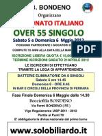 21) Loc. Campionato Italiano Over 55 Singolo (Bondeno-fe) 06-Maggio-2012
