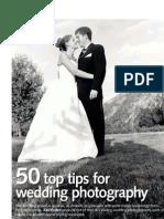 50 Tips for Wedding Photo