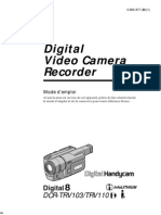 Sony Handycam Dcr Trv103 Trv110