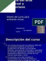 Historia Del Arte Universal y Ecuatoriano (curso virtual)