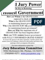 Grand Jury Power