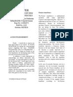 Fourier Transform Term Paper