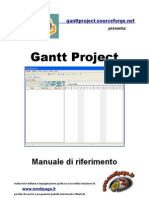 Manuale Ganttproject Italiano