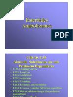 Esteroides Anabolizantes Apresentaçao
