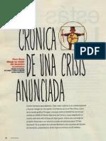 Crónica de una crisis anunciada, por Paco Roca