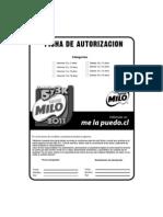 Formula Rio Milo