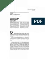 Direito em sociedade - 07 Mário Paulo Tenreiro - O Direito na Instituição Militar