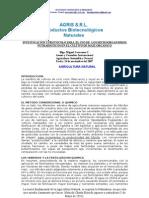 Investigacion y Protocolo Del Maiz Organico y Natural