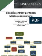 Cianosis y biomecanica respiratoria