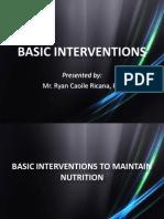 Basic Interventions