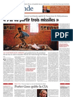 CB Soir Rwanda témoin vu 3 missiles 060506
