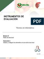 instrumentos evaluación