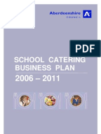 Business plan for catering company
