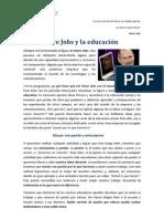 Steve Jobs y la educación (I)