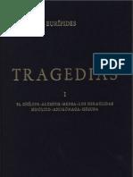 Euripides.tragedias I. El Ciclope. Alcestis. Medea. Los Heraclidas. Hipolito. Andromaca. Hecuba (Biblioteca Clasica Gredos)