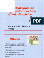 Las Estrategias de Comprension Lectora