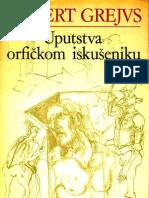 Uputstva Orfickom Iskuseniku Grejvs
