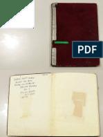Fred Seibert's maroon notebook 1972